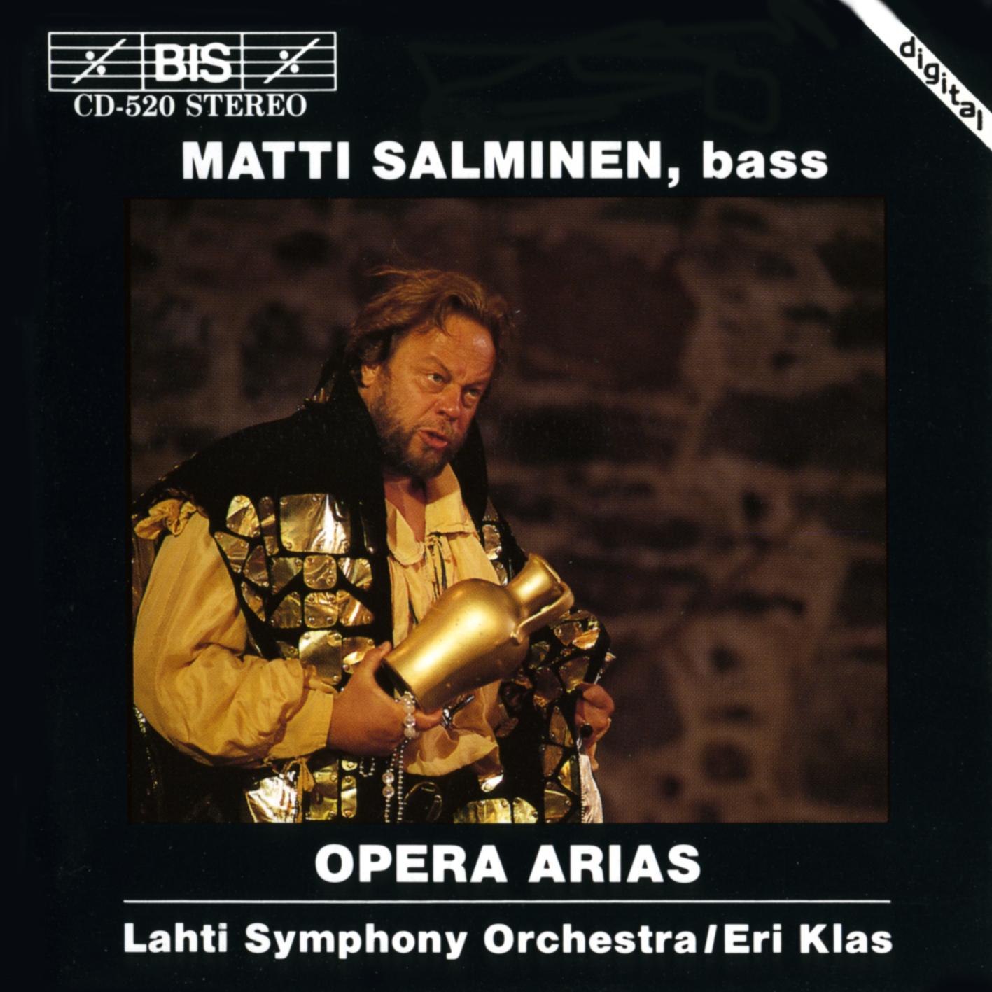 Matti Salminen, bass – Ooppera Aarioita