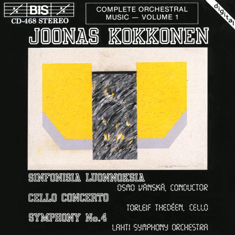 Joonas Kokkonen: Volume 1 of the Complete Orchestral Music