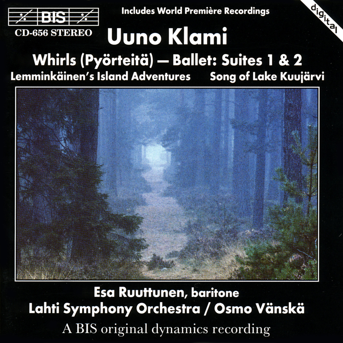 Uuno Klami – Whirls (pyörteitä)