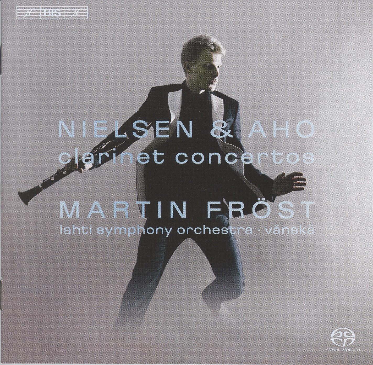 Nielsen & Aho – Clarinet Concertos