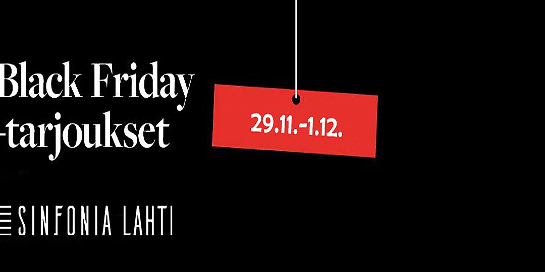 Black Friday -tarjoukset