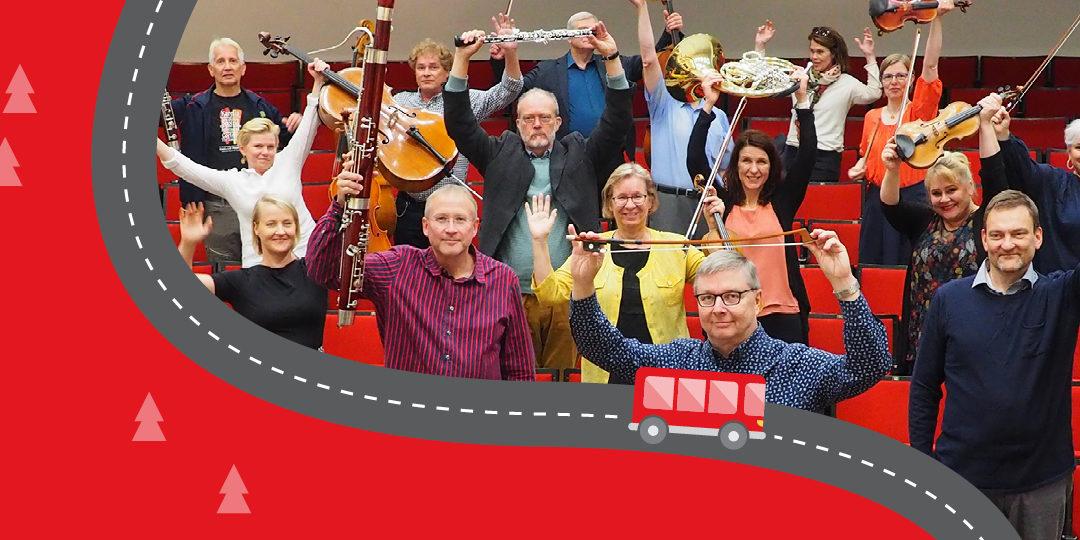 Sinfonia Lahti tekee syyskuun lopulla maakuntakiertueen