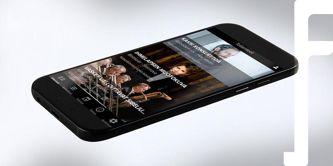 SL ClassicLive -mobiilisovellus tuo Sinfonia Lahden konsertit entistä helpommin saataville