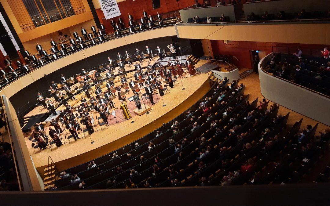 Sibelius-festivaalilla loppuunmyytyjä konsertteja, tilaisuuksissa lähes 2.000 henkilöä